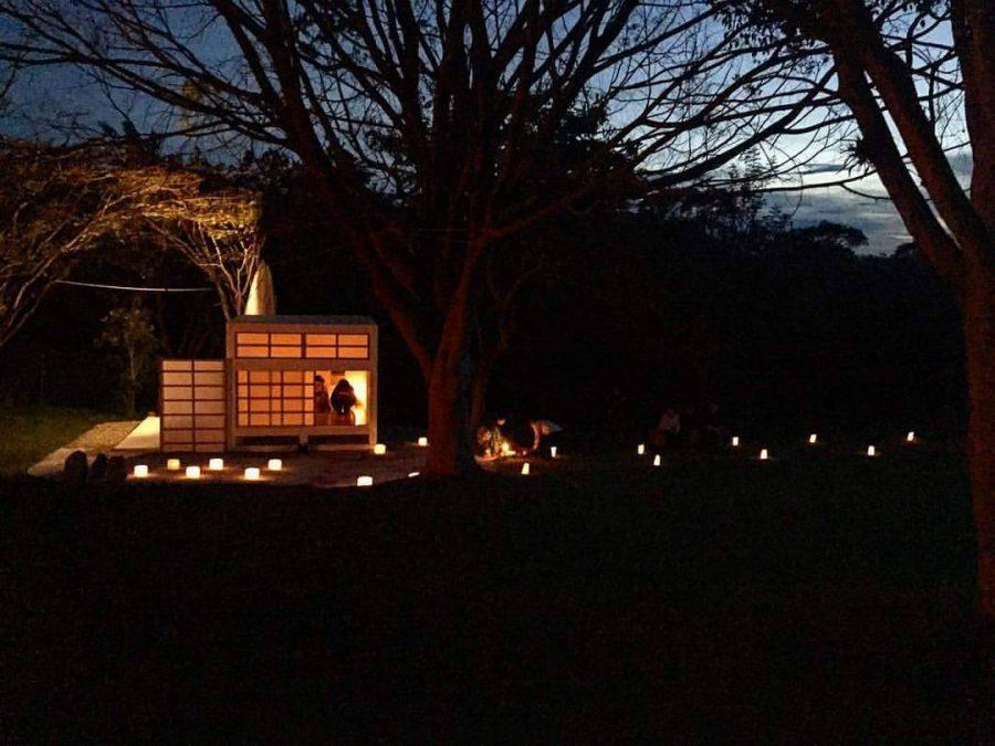 Cérémonie de thé d'hiver Yobanashi au Méxique / Winter tea ceremony Yobanashi in Mexico