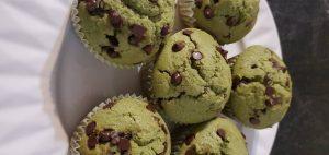 Muffin au matcha