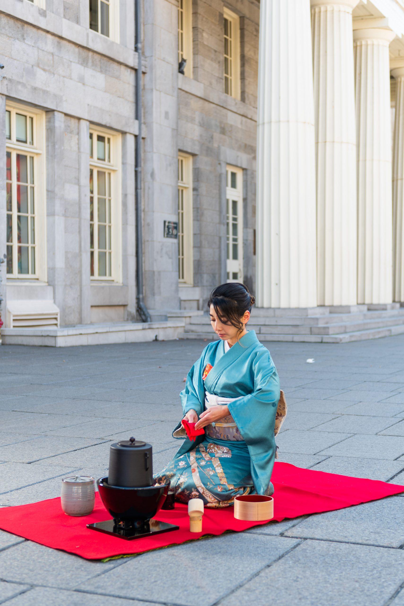 Cérémonie du thé japonaise