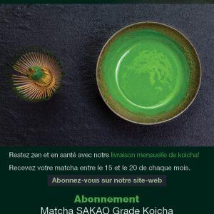 Abonnement Matcha grade Koicha 6 mois